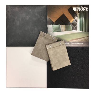 KIT LEATHER SAMPLES - FRENCH