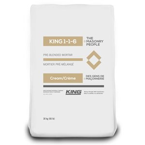 MORTAR KING - 1-1-6 CREAM